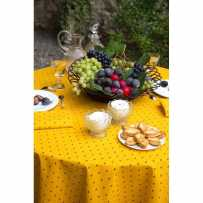 Round table covers printed Calissons