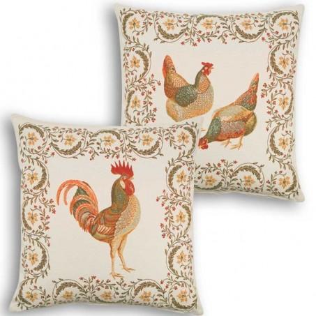 Sofa pillow cover Chanteclair